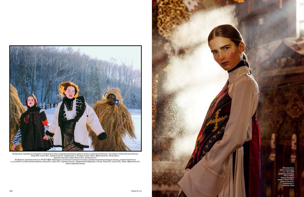 STELLA VON SENGER – HAIR & MAKE-UP ARTIST Vogue Ukraine
